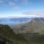 view from sentinel range tasmania